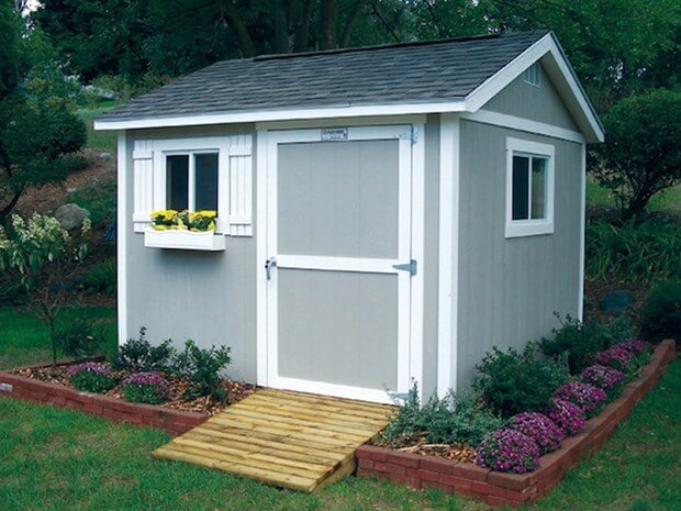 Outdoor Storage Sheds: The Perfect Solution To Little Stora