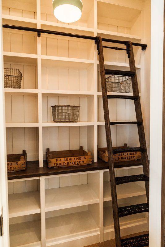 Top 10 Diy Farmhouse Shelves Ideas | Pantry shelving, Pantry .