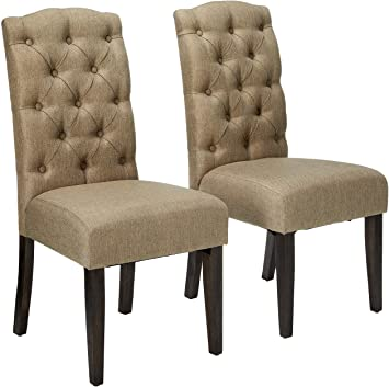 Amazon.com - Alpine Furniture Newberry Parson Chairs - Chai
