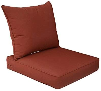 Amazon.com : BOSSIMA Outdoor Patio Cushions Deep Seat Chair .