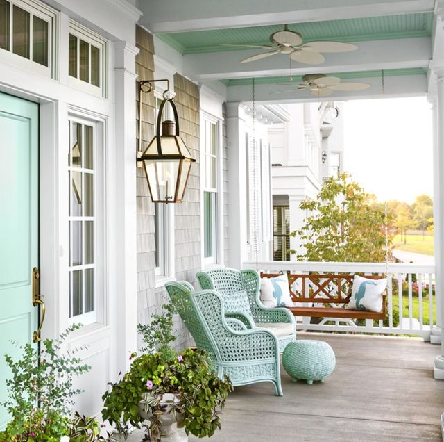 81 Best Front Porch Ideas - Ideas for Front Porch and Patio Decorati