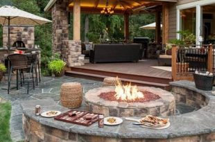 30 Patio Design Ideas for Your Backyard | Backyard seating, Patio .