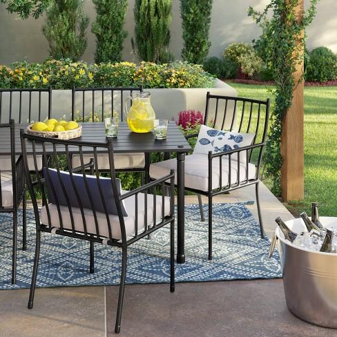 Fernhill 7pc Patio Dining Set - White - Threshold™ : Targ