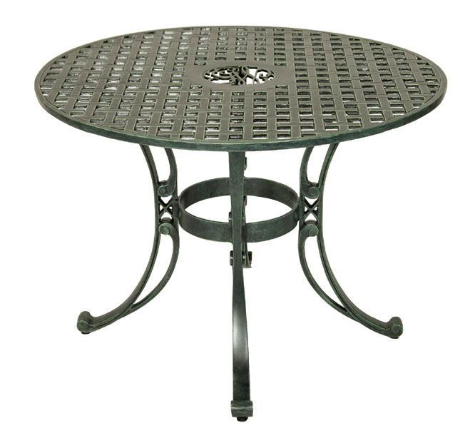 George Washington's Cypher Round & Oval Patio Tables — The Shops .
