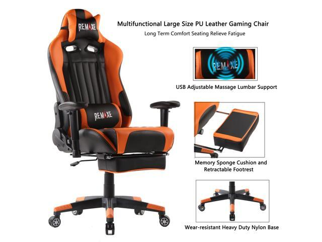Remaxe Computer Gaming Chairs High Back Ergonomic PC Gaming Chair .