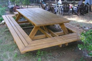 Custom Made Picnic Tables Large Thru-Bolt Picnic Tables | Et