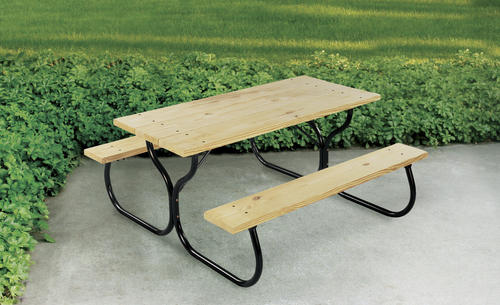 Backyard Creations® Picnic Table Frame Only Kit at Menards