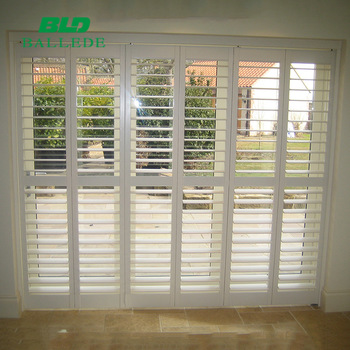 2018 White Window Shutters,Plantation Blinds,Octagon Window .