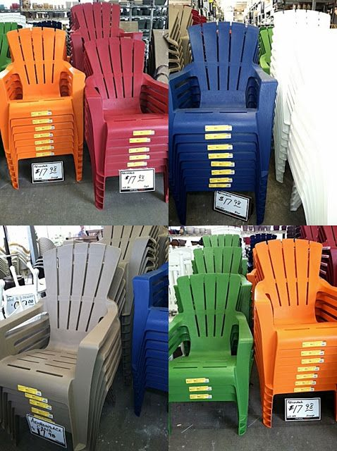Plastic Adirondack Chairs Target | Cheap outdoor chairs, Plastic .