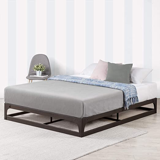 Amazon.com: Mellow 9 Inch Metal Platform Bed Frame w/Heavy Duty .