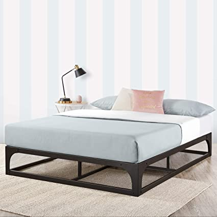 Amazon.com: Mellow Metal Platform Bed Frame w/Heavy Duty Steel .