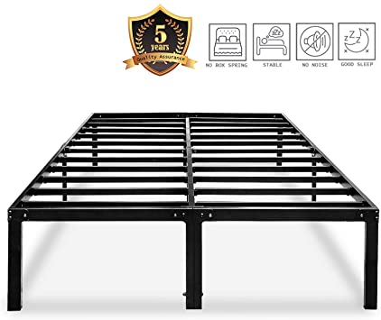 Amazon.com: HAAGEEP King Platform Bed Frame with Storage 14 Inch .