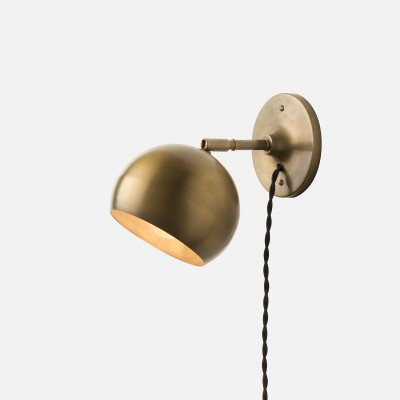 Splurge or Save: Brass Plug-In Wall Sconces | Havenly's Blo