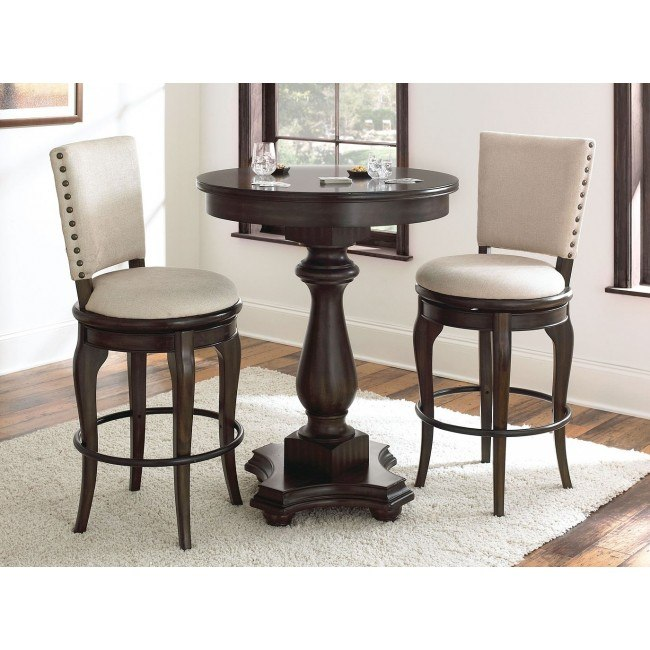 Leona Pub Table Set by Steve Silver Furniture | FurniturePi