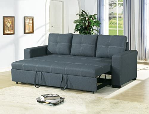Amazon.com : Esofastore Convertible Sofa Bed Bobkona Living Room .