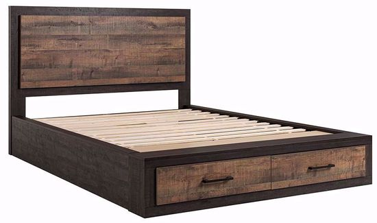 Brooke Queen Storage Bed Set | The Furniture Ma