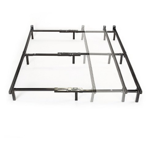 Compack Adjustable Steel Bed Frame (Twin/Full/Queen) - Sleep .