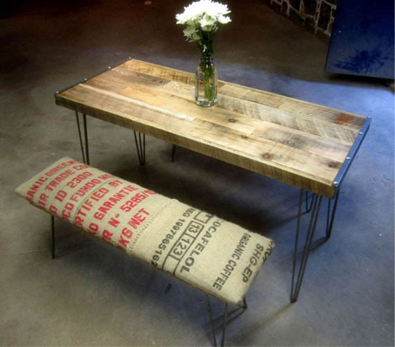 Recycled Brooklyn Reclaimed Furniture | Cool Materi