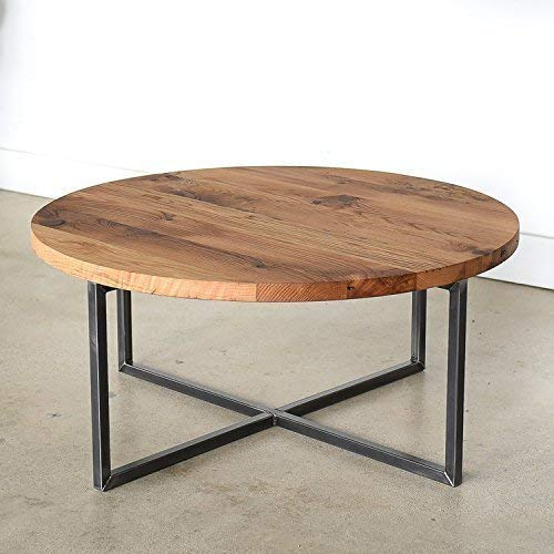 Amazon.com: Round Modern Reclaimed Coffee Table: Handma