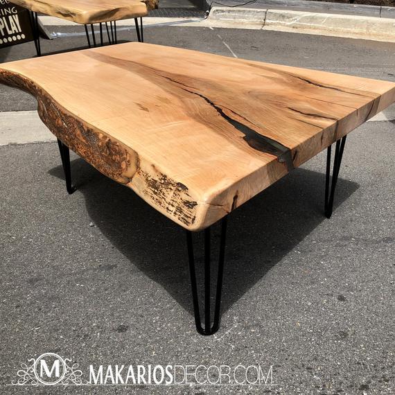 Coffee table.reclaimed wood coffee table.modern coffee | Et