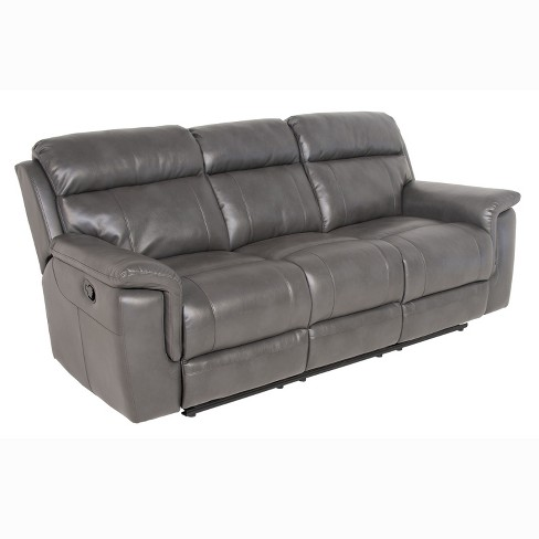 Dakota Recliner Sofa Gray - Steve Silver : Targ