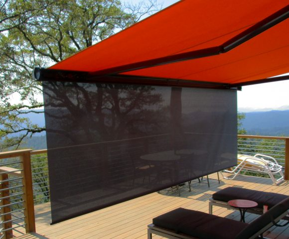 Motorized Retractable Awnings | ERS Shading | San Jo