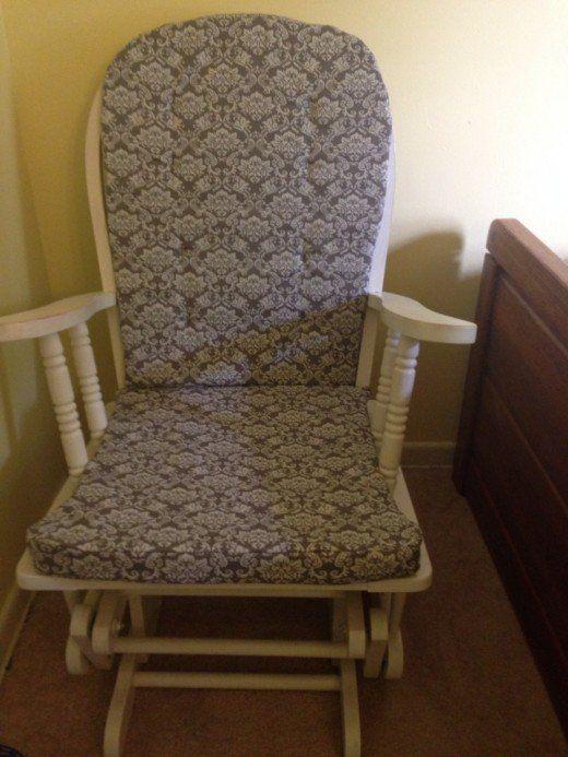 How to Make Cushions | Rocking chair cushions, Rocking chair pads .