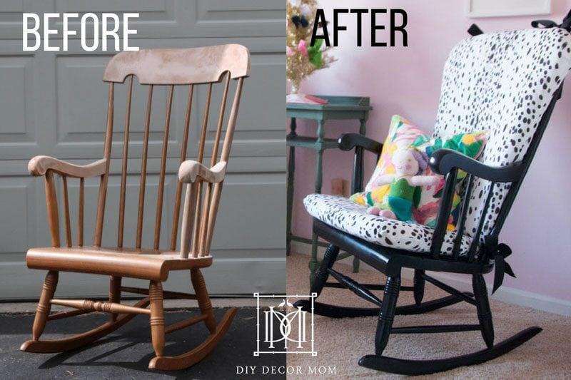 DIY Upholstered Rocking Chair | Home Decor | DIY Decor M