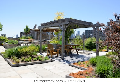 Rooftop Garden Images, Stock Photos & Vectors | Shuttersto