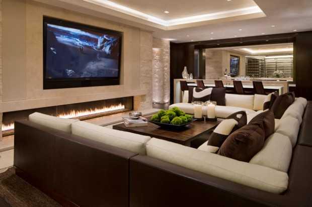 23 Stunning Modern Living Room Design Ide