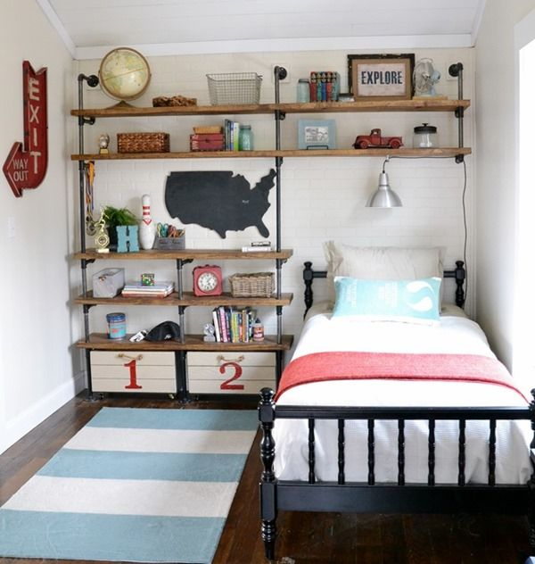 15 Inspiring Bedroom Ideas for Boys | Boy room, Kids bedroom, Ro