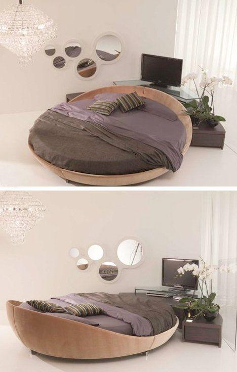 Round Beds, Round Mattresses & Round Sleeper Sofas | Circle bed .