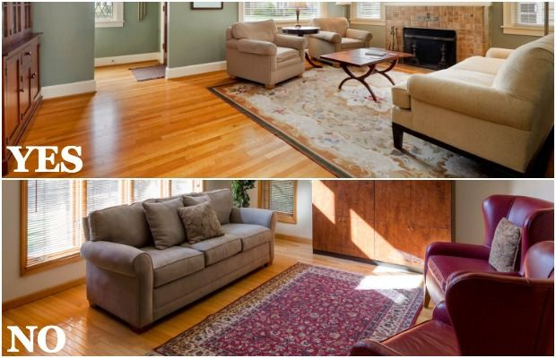 7 Rug Mistakes to Never Make | Rugs in living room, Living room .