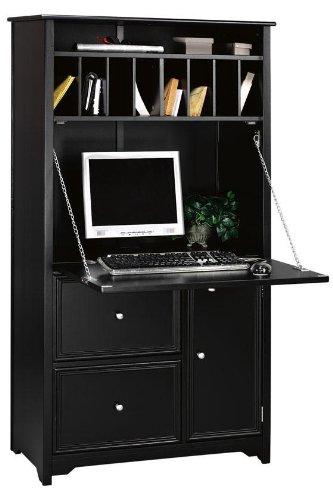 Amazon.com: Home Decorators Collection Oxford Tall Secretary Desk .