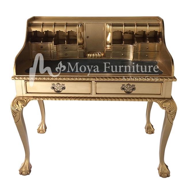 Antique secretary desk with drawers - Indonesia Classic Furnitu