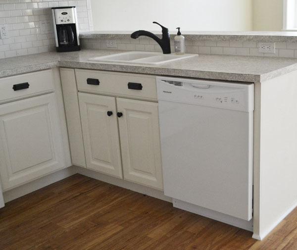 "36"" Sink Base Kitchen Cabinet - Momplex Vanilla Kitchen | Ana Whi"