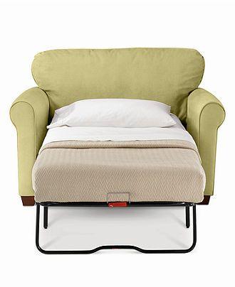 Sasha Sofa, Twin Sleeper - Chairs & Recliners. #chairsleeperbed .