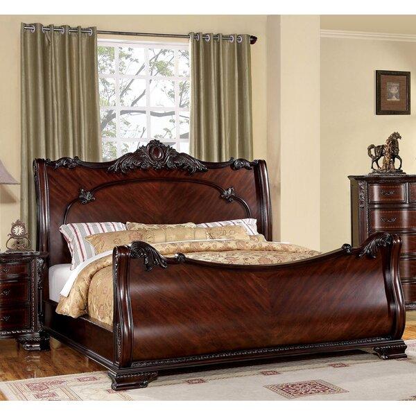 Astoria Grand Barstow Sleigh Bed & Reviews   Wayfa