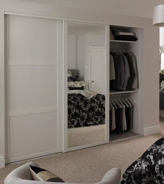 Perfect Shaker Sliding Wardrobe Doors Inspirations (With images .