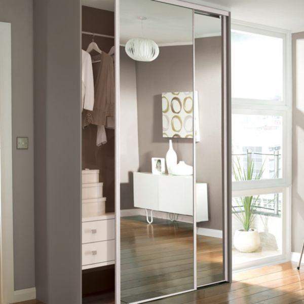 Sliding mirror closet doors can be applied to sliding wardrobe .