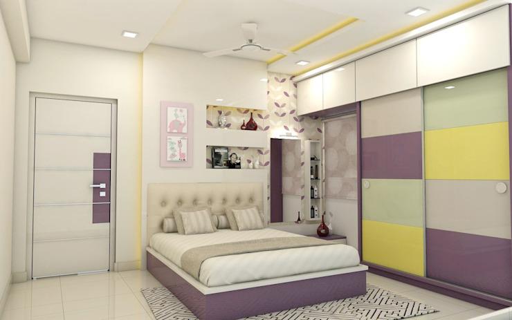 Small bedroom wardrobe design