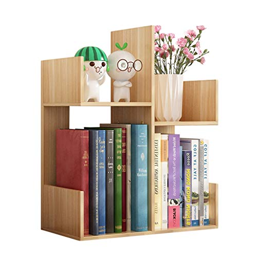 Amazon.com: Bookcases Small Bookshelf Simple Table Storage Rack .