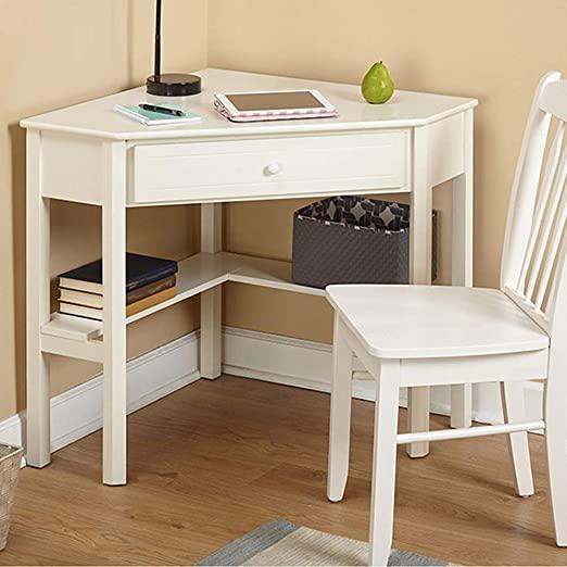 Amazon.com: Wood Corner Desk,4HOMART Corner Computer Desk with One .