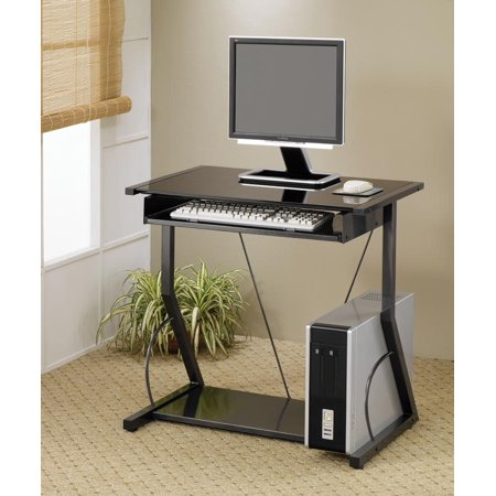Coaster Company Small Space Computer Desk, Black - Walmart.com .