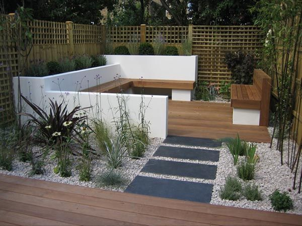 Decor for Modern Garden Ideas | Contemporary garden design, Modern .