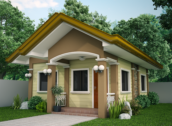 Small House Designs - SHD-2012001 | Simple house design, Small .