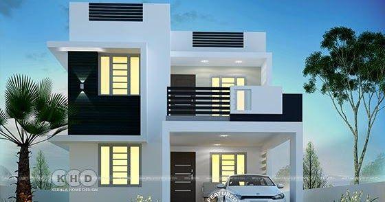 Super cute small contemporary home in 2020 | Kerala house design .