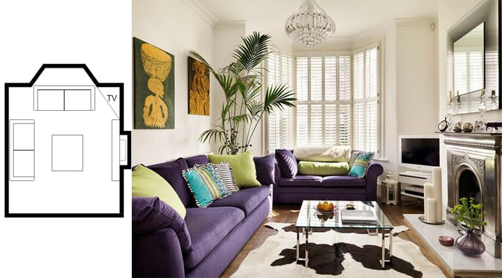 Amazing Small Living Room Layouts with TV to Inspire You - Home .