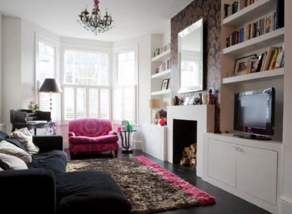 How to decorate a small living room | Victorian living room, Home .