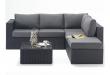 Small Sofa Set | Sofa set, Rattan corner sofa, Corner sofa s